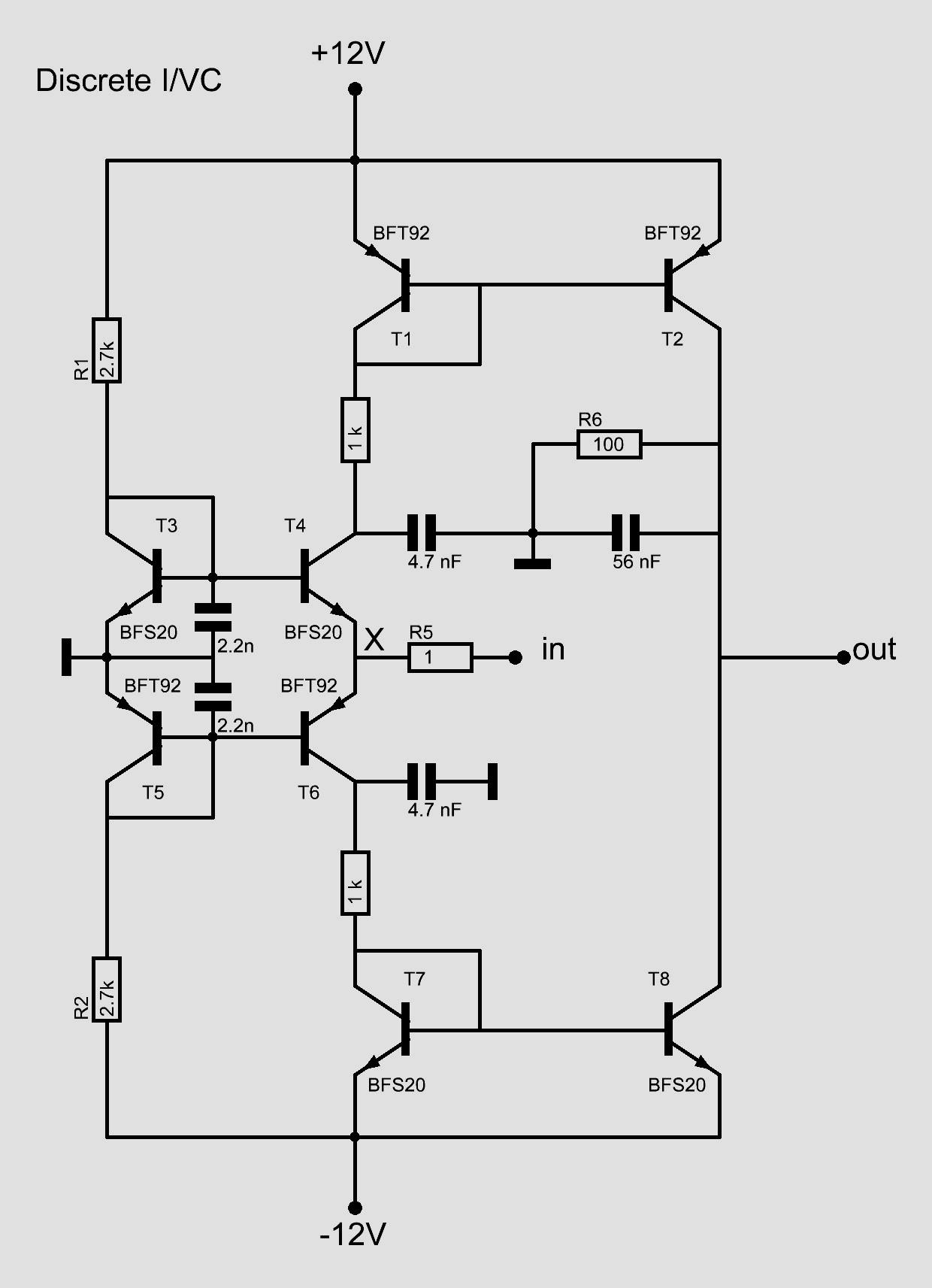 The I V Converter Circuit Diagram Definition